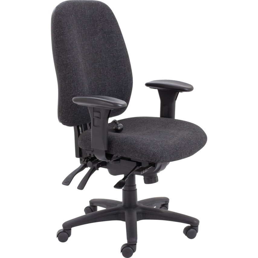 Lincoln 24-Hour Operator Chair Royal Blue