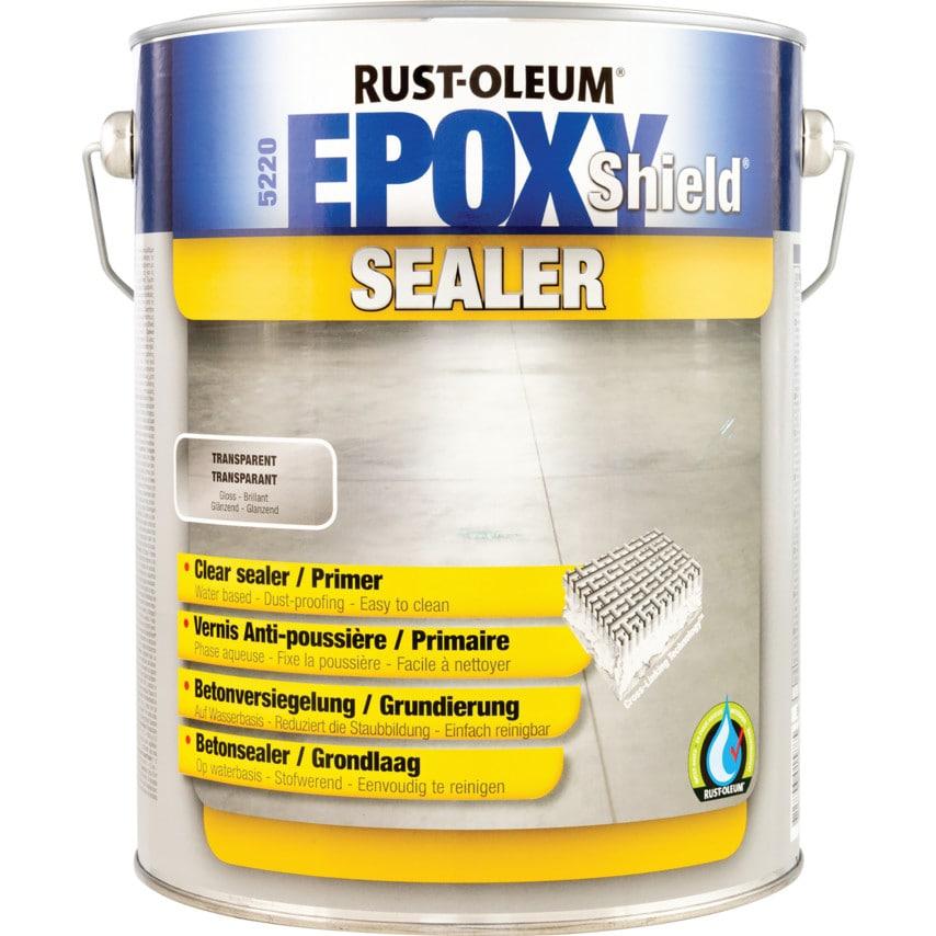 Rust-oleum Epoxy Shield Clear Sealer 5LTR