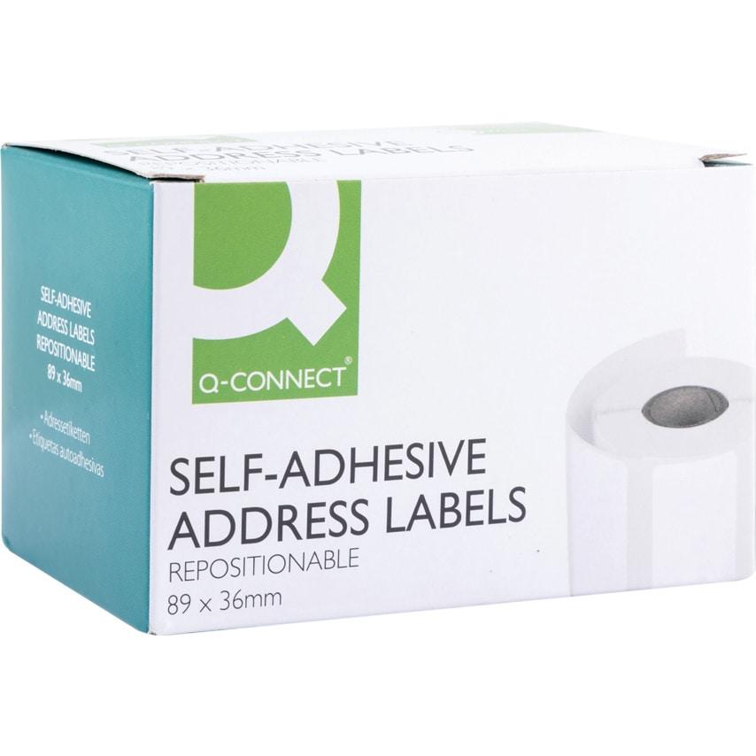 Qconnect Q Connect Easi Peel Labels (Pack-200)
