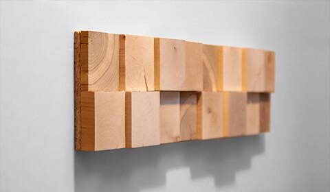plaque deco mur bois