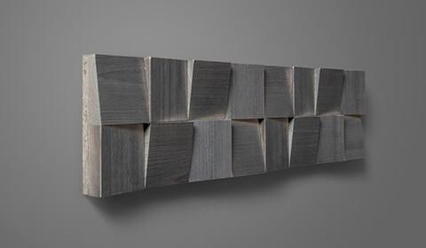 plaquette mur parement bois
