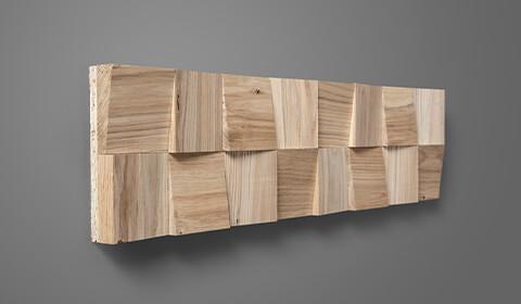 Panneau en bois massif
