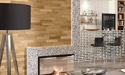 paneles de pared de madera