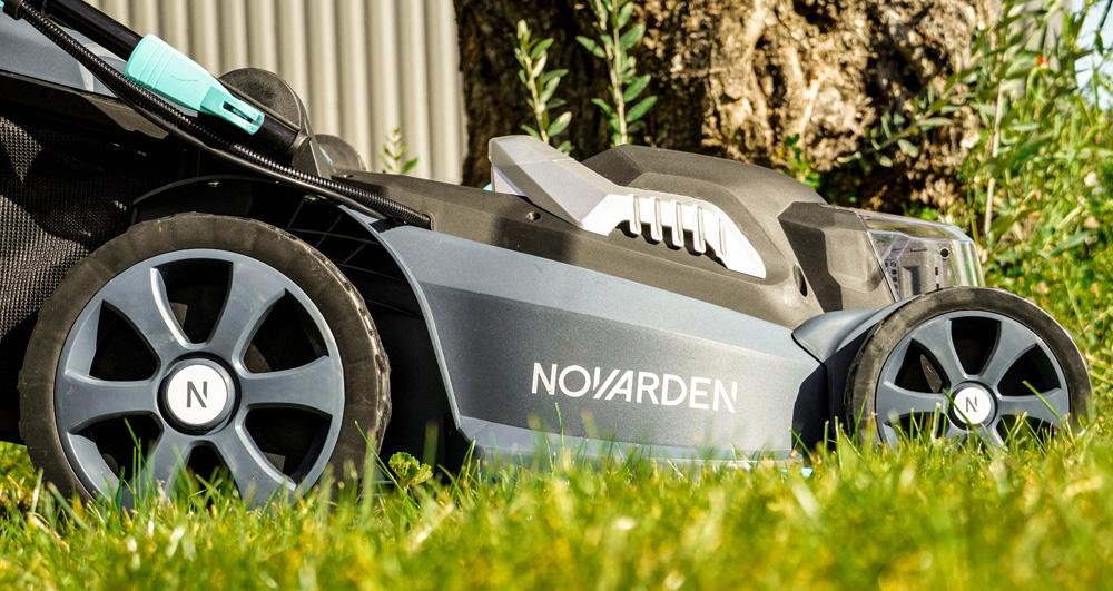NOVARDEN gamme à batterie NOMAD tondeuse NMA50b
