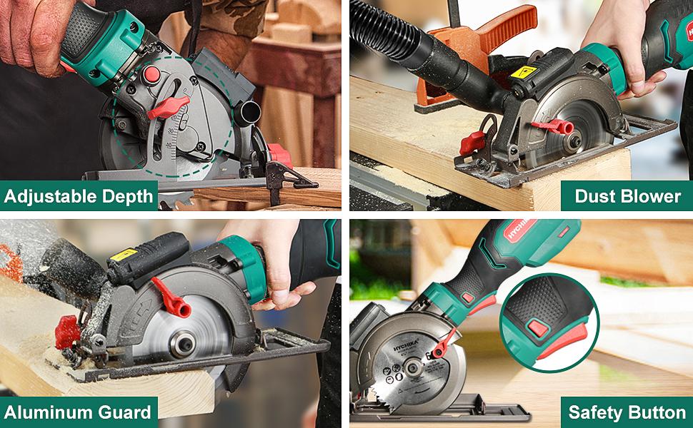 Circular saw, Mini circular saw 750W, Compact circular saw, Small circular saw