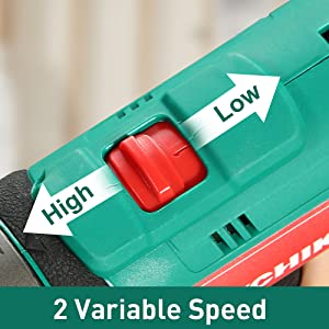high or low speed choice