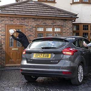 driveway alarm sensor alert car theft burglar h