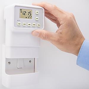 timer plug light switch timer home security burglar deterant mydome