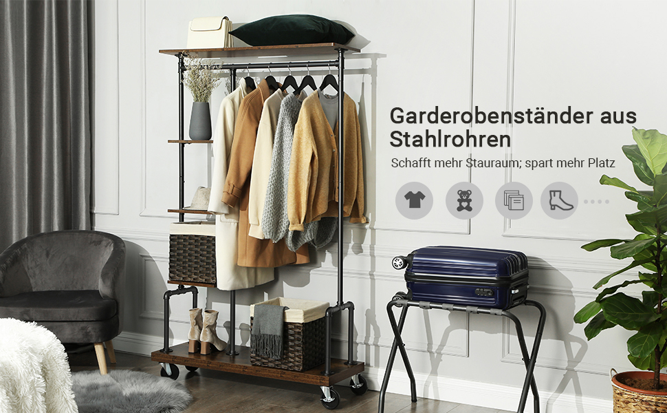 HSR66BX Garderobenständer