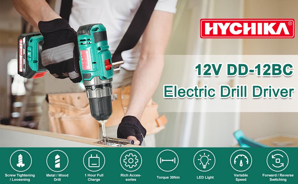 12V Electric Drill Driver