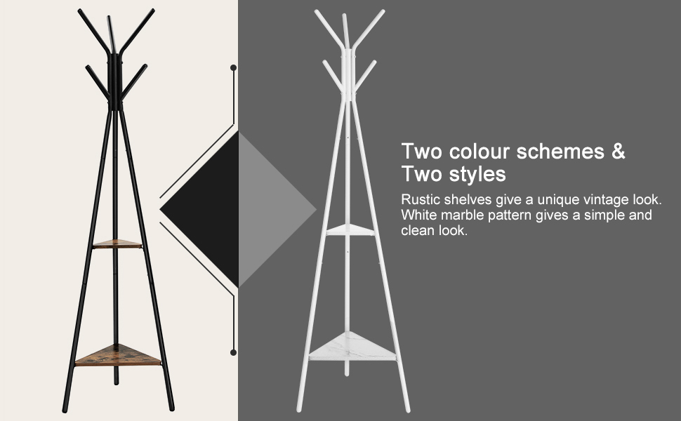 Two colour schemes & Two styles