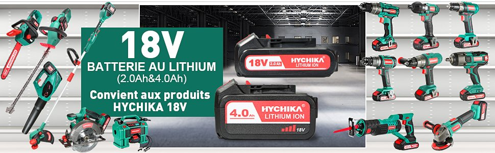 18V 2.0 & 4.0 Battery
