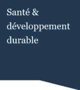 Tarkett Santé et développement durable