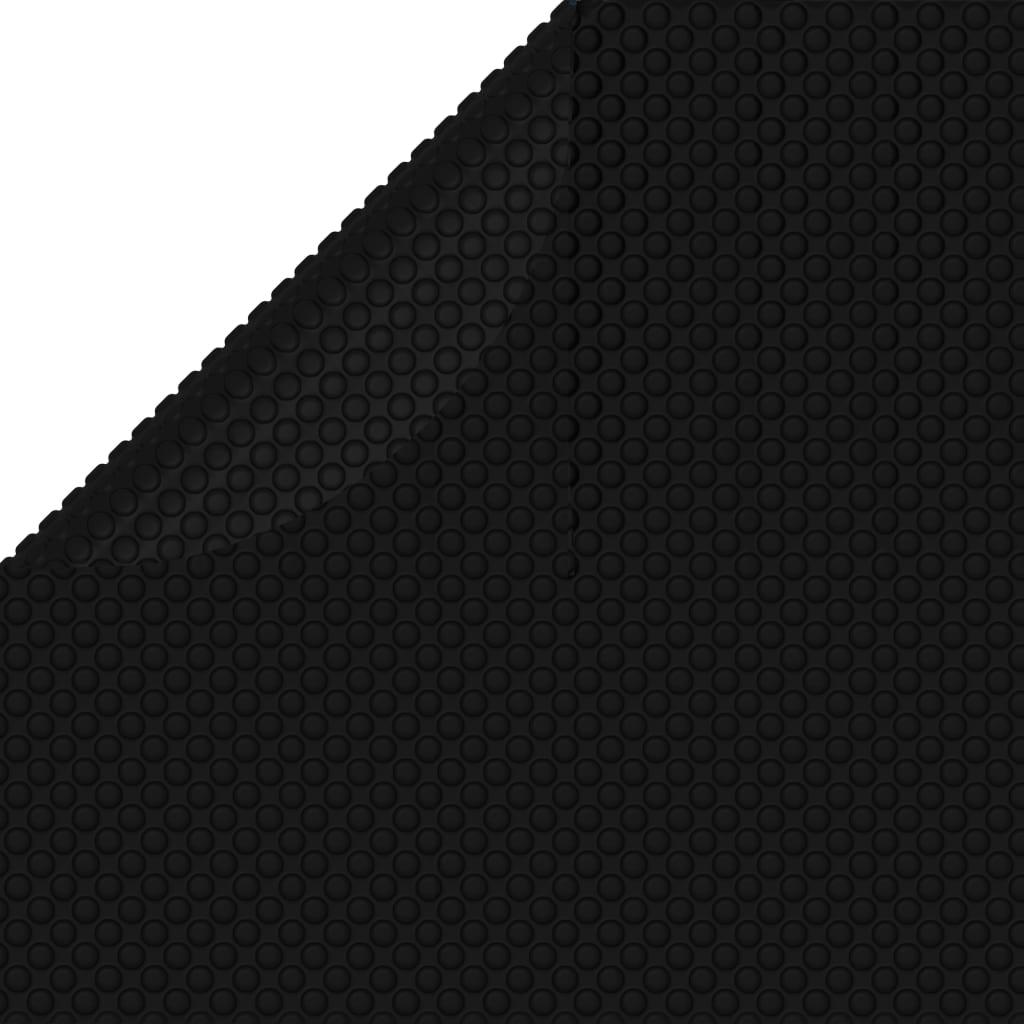 Couverture de piscine noir 455 cm pe 92158 - Chauffer sa piscine avec tuyau noir ...