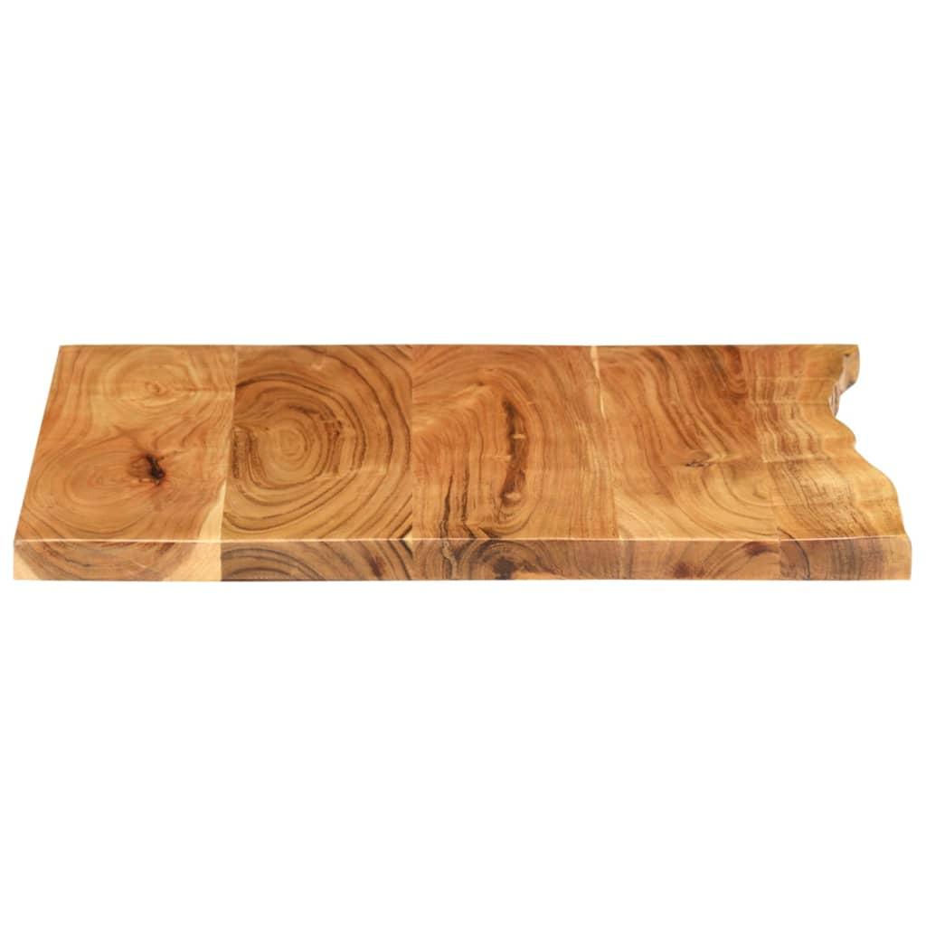 Badezimmer Waschtischplatte Massivholz Akazie 200x200x20,20cm