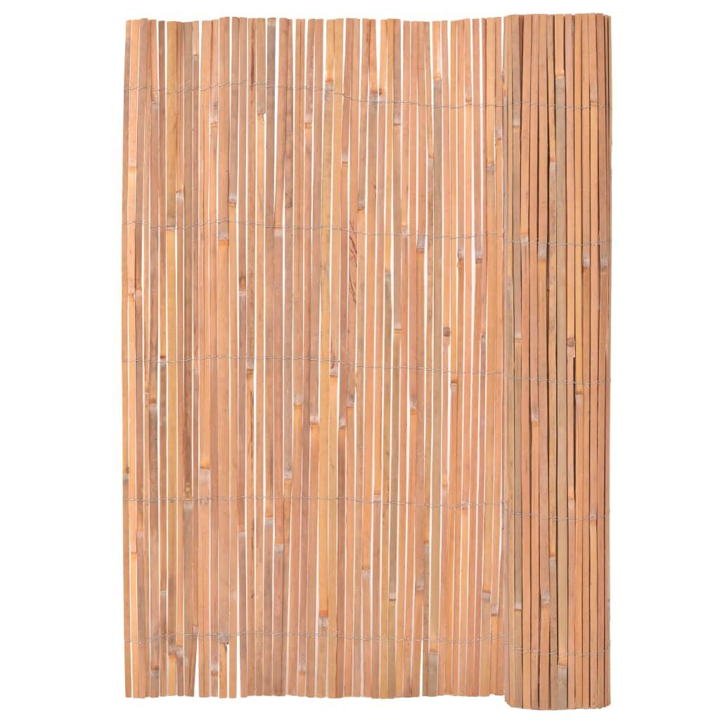 Bambuszaun 200 400 Cm