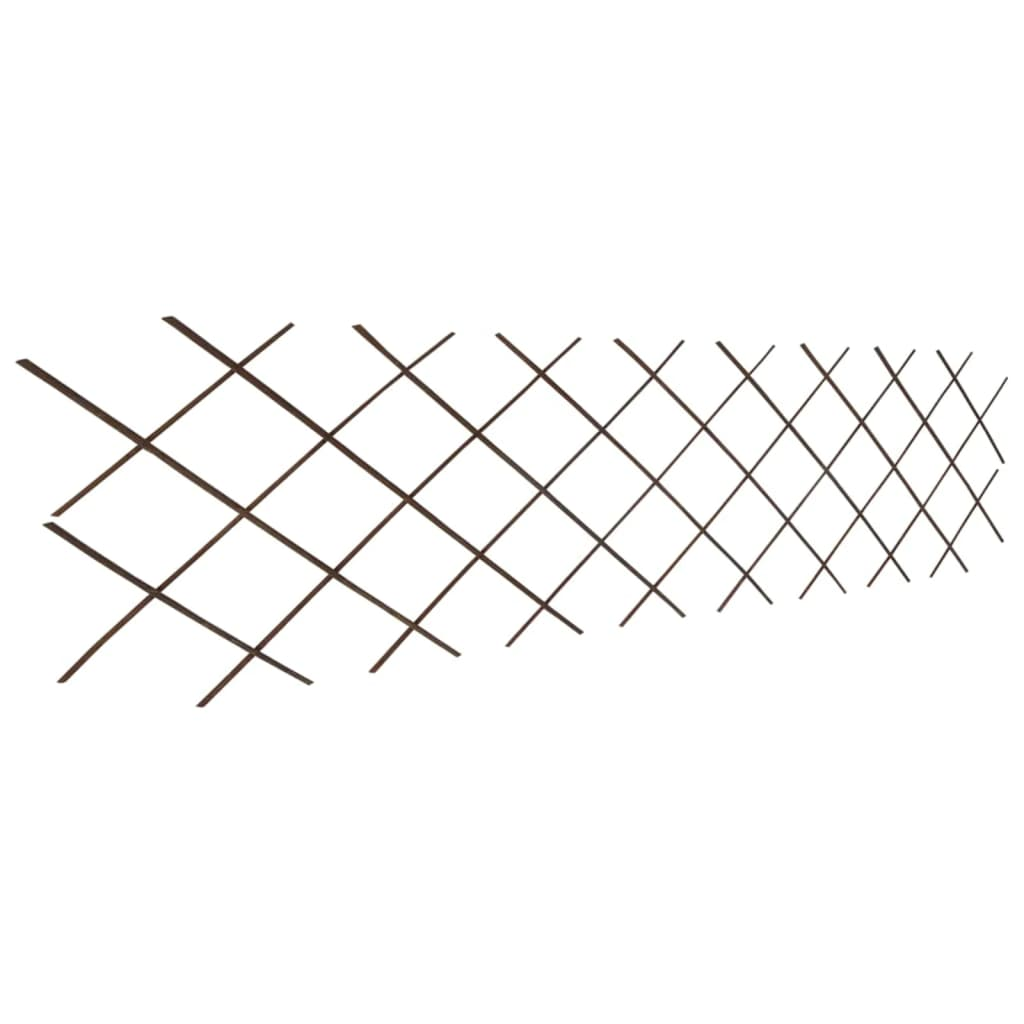 Clôture en treillis 5 pcs Bois solide 180x90 cm