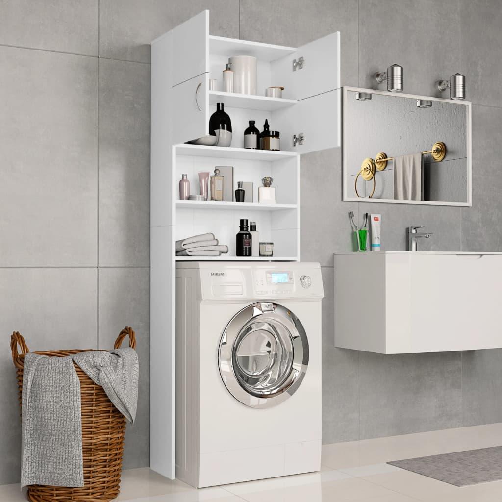Waschmaschinenschrank Weiß 20×20,20×20 cm Spanplatte