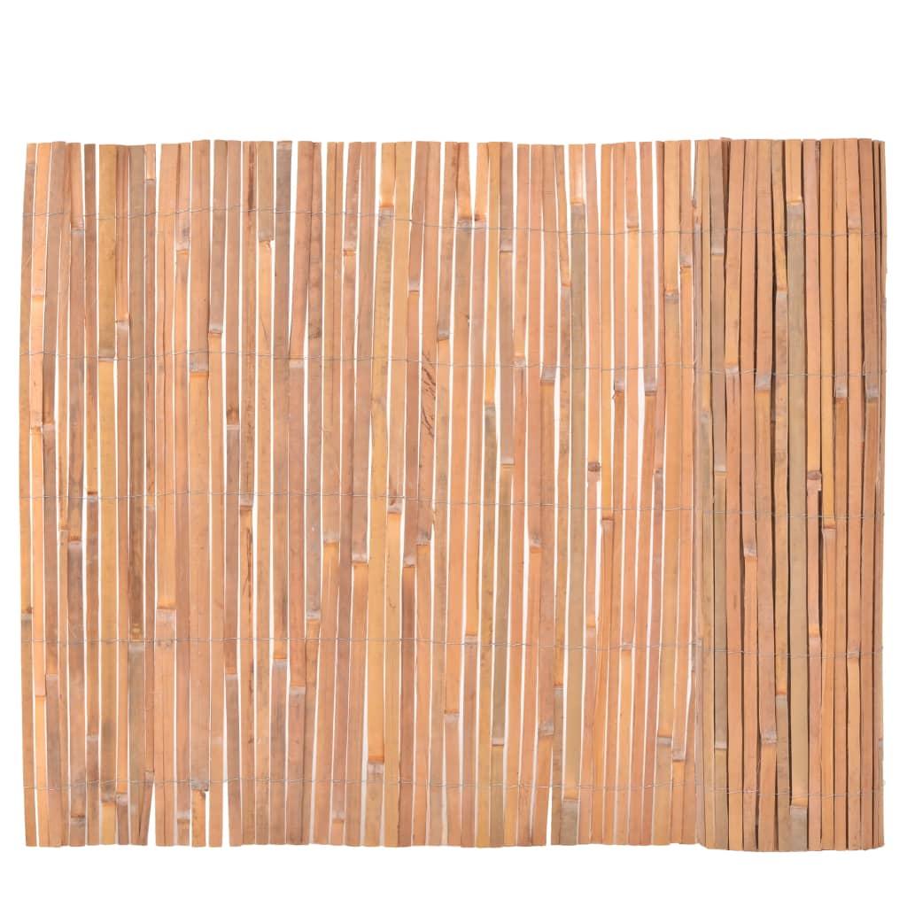 Bambuszaun 100 400 Cm