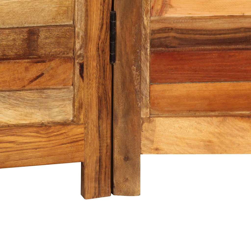 Paravento In Legno Per Esterni paravento in legno massello di recupero 170 cm -