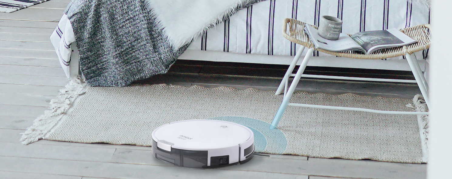 Robot aspirador y friegasuelos AMIBOT Spirit Ice H2O