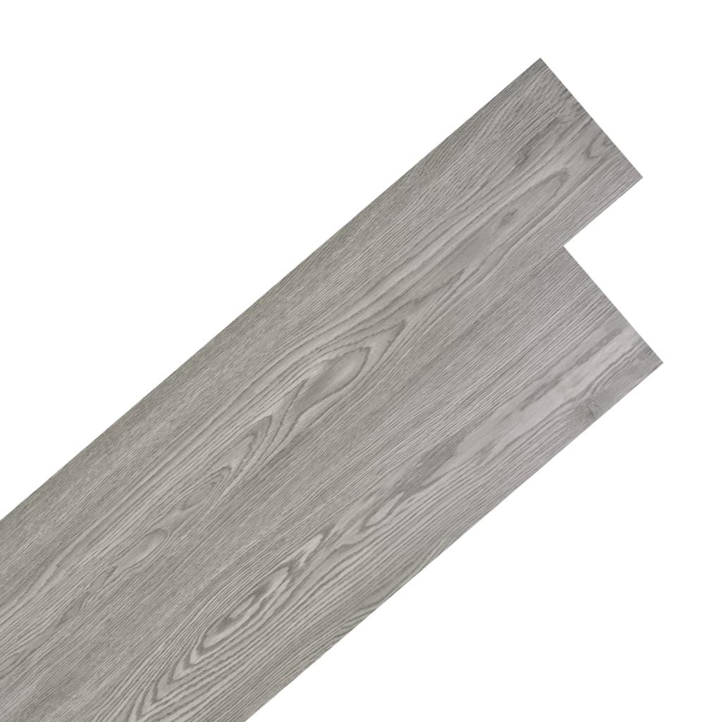 Pavimenti In Pvc Ad Incastro listoni pavimentazione autoadesivi pvc 5,02 m² 2mm grigio