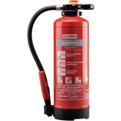 Extintor polvo P6 PRO