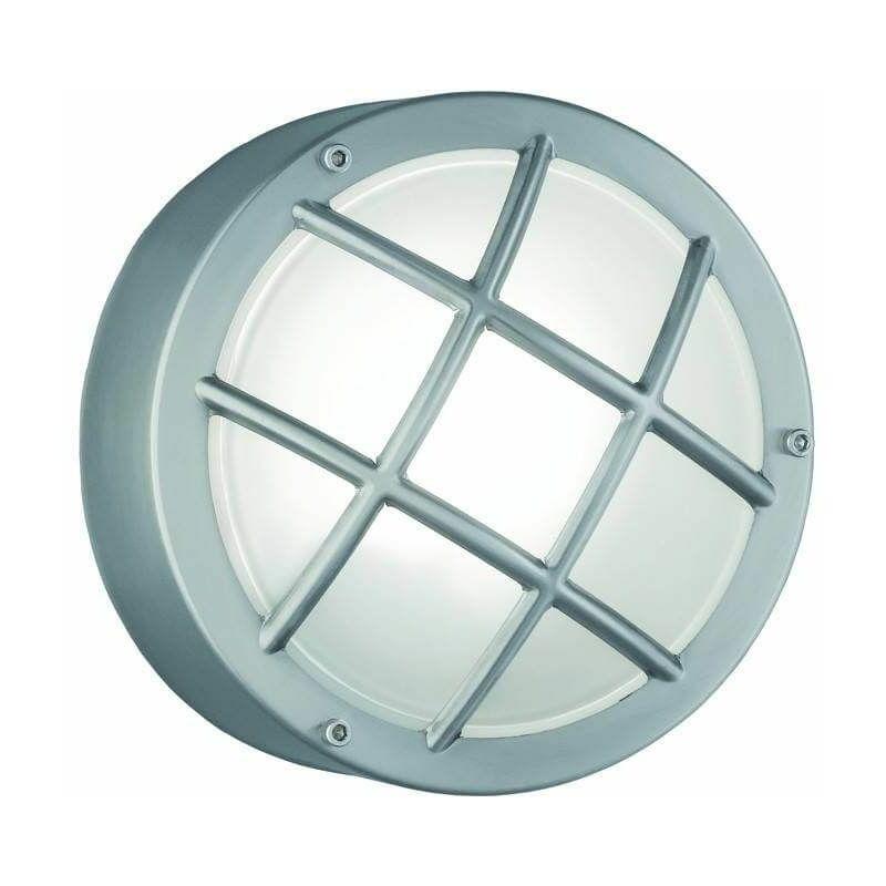 Image of 1 Bulb Stainless Steel Garden Wall Light