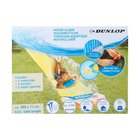 Extra Long Dunlop Inflatable Water Slide