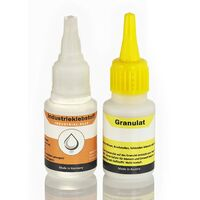 Extra starker Industriekleber mit Granulat, 100% Effektiv - die Klebstoff-Schweißnaht - Superkleber, Der Alleskleber ist wasserfest und hitzebeständig
