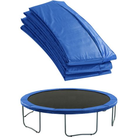 Extra Thick Premium Trampoline Replacement Safety Pad (Spring Cover) | Fits for Round Frames | Blue Colour Trampoline Padding for Maximum Safety