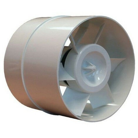 Extracteur Aérateur de gaine - 125 mm 185 mc/h - Winflex ventilation