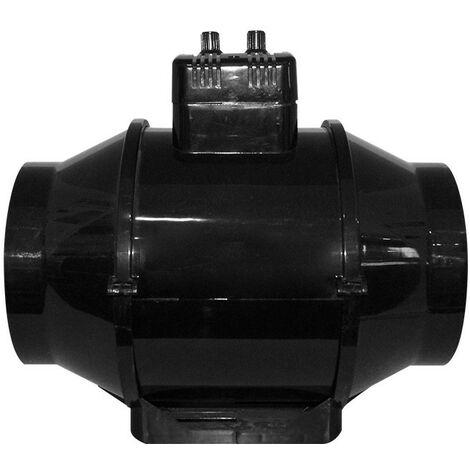 Extracteur air TT 150 U n 550 m3/h avec thermostat et variateur intégré , aérateur , ventilation