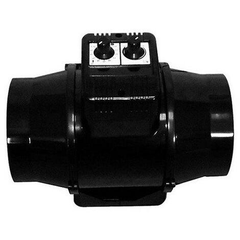Extracteur Air TT U 125 Thermostat et variateur intégré 280m3/h - Winflex