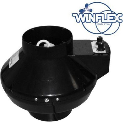 Extracteur air VK 150 mm U 460 m3/h avec thermostat et variateur intégré , aérateur , ventilation