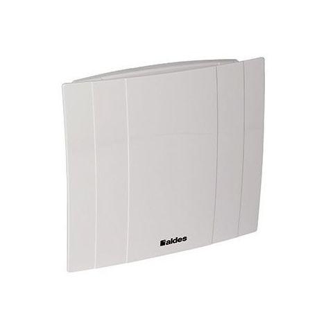 Extracteur Deco 100 manuel silencieux basse consommation - Blanc - Blanc
