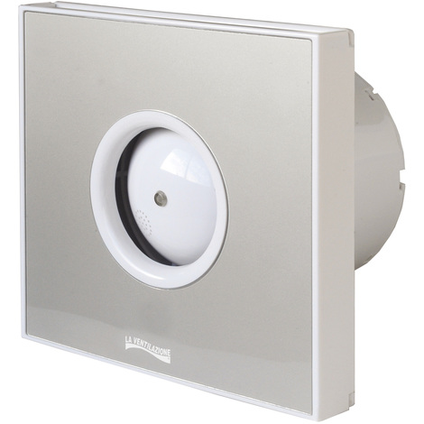Extracteur d'air hélicoïdal GIOTTO 230V Ø100mm - Gris
