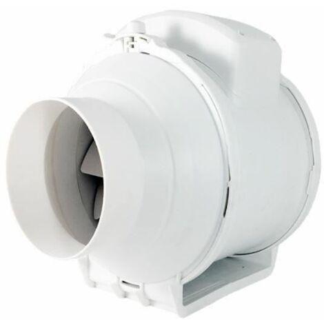 Extracteur d'air industriel de ventilateur de conduit de ventilation de 200mm en ligne flux d'air régulé