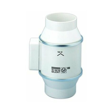 Extracteur de conduit - TD250/100 Ecowatt - 4/19W - 110/280m3/h - 18/37dB