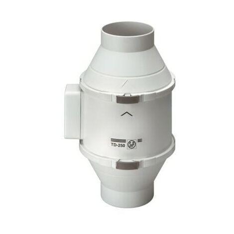 Extracteur de conduit - TD500/150 Ecowatt - 8/50W - 230/570m3/h - 15/31dB