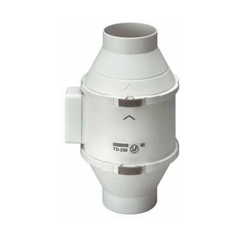 Extracteur de conduit - TD800/1200 Ecowatt - 28/101W - 580/960m3/h - 25/37dB