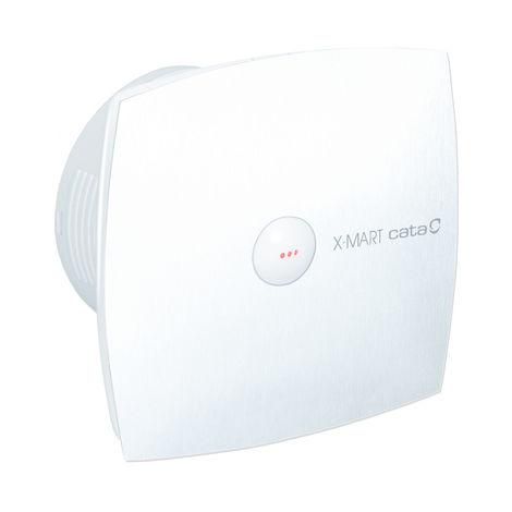 Extracteur de ventilateur de salle de bain blanc Cata XMART10 100MM