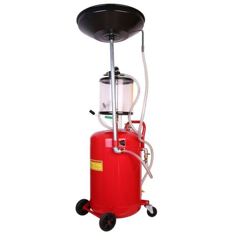 Extracteur d'huile pneumatique Récupérateur d'huile 68L avec sortie d'air
