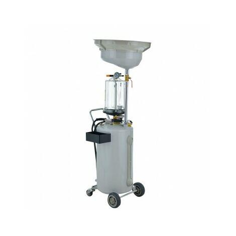 Extracteur d'huile pneumatique Récupérateur d'huile 80L avec sortie d'air