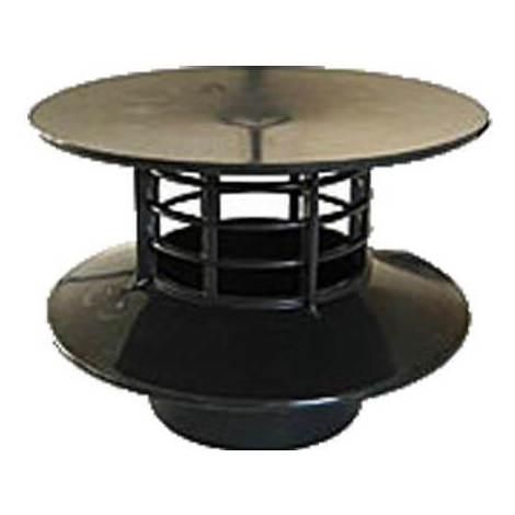 Extracteur éolien statique pour évent de fosse septique ou micro-station