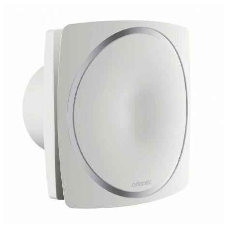 Extracteur permanent automatique Curv Genius 100IH - Salle de bain - 20/50m³/h - 16 à 22 dB(A) - Blanc