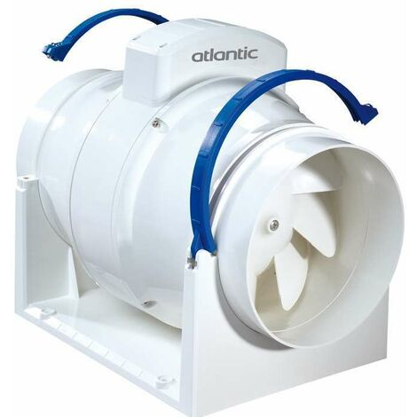 Extracteur d'air permanent en conduits - VMC EASY 150 3V ATLANTIC - 123188  Diamètre 150 mm - 3 vitesses