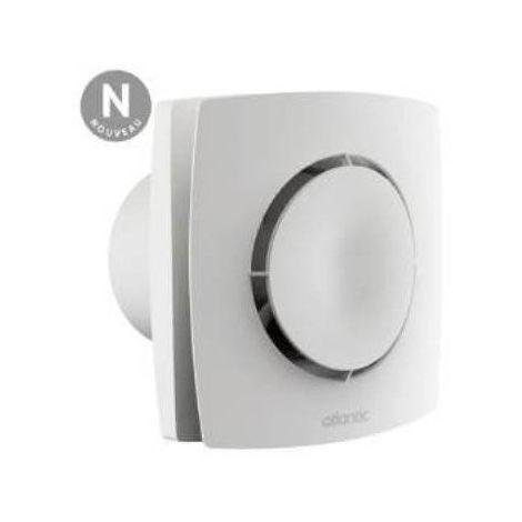 Extracteur ponctuel automatique temporisé Curv Flash 100PIR - Salle de bains ou WC - 90m³/h - 28 dB(A) - Blanc