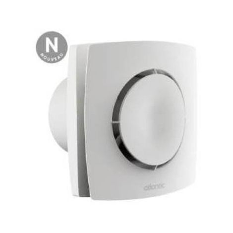 Extracteur ponctuel temporisé Curv Flash 120T - WC, salle de bain, cuisine - 170m³/h - 37 dB(A) - Blanc