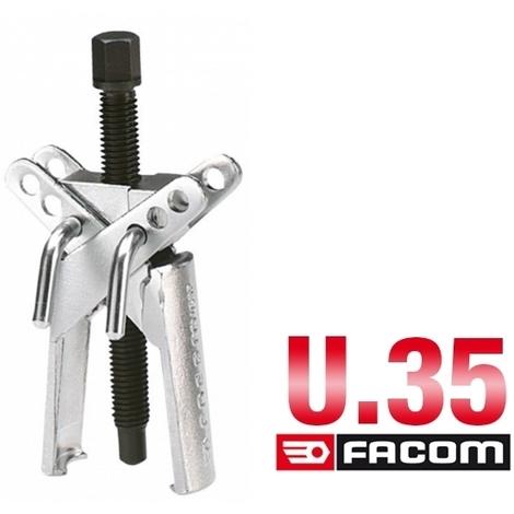 Extracteur pour prise extérieure griffes larges 15-75 mm U.35 Facom